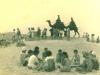 月の沙漠ラクダ像