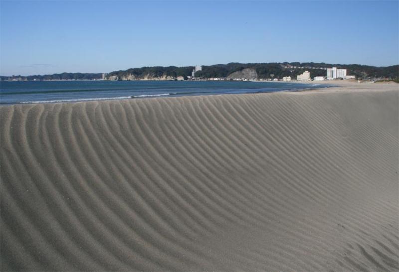 御宿の砂丘